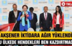 Meral Akşener Çankırı'da iktidara ağır yüklendi!