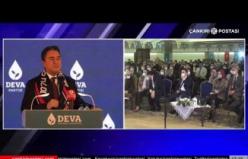 Ali Babacan'dan Çankırı'da 'siz gemiden indiniz' sözlerine dikkat çeken cevap!