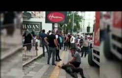 Çankırı'da nakliyat şirketi çalışanları ile ev taşıyan aile arasında kavga