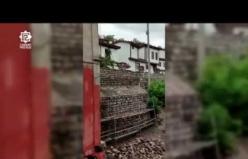 Çankırı'da Mühendislik Hatası Duvar, Evi Sel Altında Bıraktı!