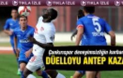 Çankırıspor - Gaziantepspor Türkiye Ziraat Kupası 3. Tur karşılaşması