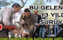 Sultan Süleyman da kutlu pilav izdihamı