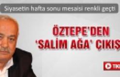 Öztepe'den 'Salim ağa' çıkışı!