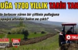 Çankırı'da pulluğa 1700 yıllık tarih takıldı!
