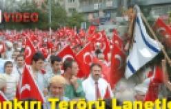 Çankırı'da İsrail terörü kınandı!
