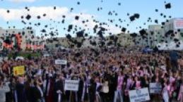 Çankırı Karatekin Üniversitesi 2017 Mezuniyet Töreni