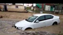 Karamustafa Köyü sel baskınından yeni görüntüler