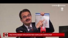 Vali Ayaz: Sırası gelen vatandaşlarımız ivedi olarak aşı olmalı
