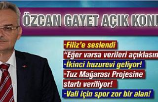 2014 yılını değerlendire Özcan gayet açık konuştu!