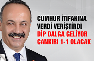 """CHP'li Atalay """"Dip dalga geliyor, Çankırı..."""