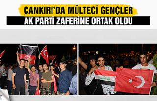 Mülteci gençler AK Parti zaferine ortak oldu!