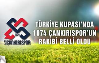 Türkiye Kupasında 1074 Çankırıspor'un rakibi...