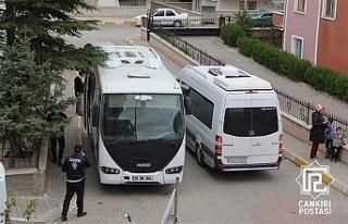 Çankırı'da okul taşıtına servisten men...