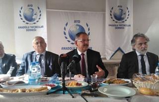 Özhaseki, Ak Parti'de başkan adayı kriterlerini...