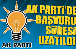 AK Parti'de aday adaylığı başvuru süresi...