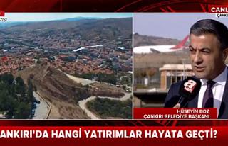 Çankırı Belediye Başkanı Hüseyin Boz A Haber'e...