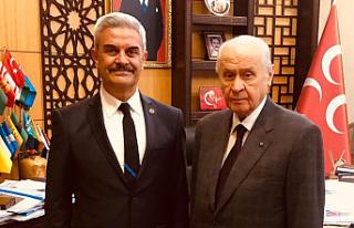 Hakkı Yalçın, Çankırı Belediye Başkanlığına...