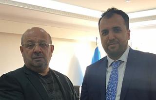 Mehmet Şahin, belediye başkanlığı için aday...