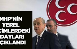MHP Çankırı'da 6 ilçe 3 belde adayını daha...