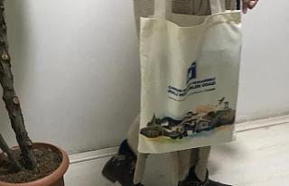 Çankırı Muhasebeciler Odası bez çanta dağıttı