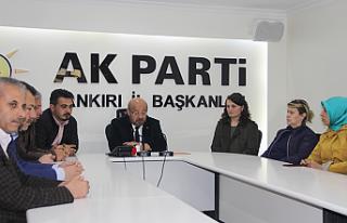 AK Parti Çankırı İl Başkanı Kaman görevinden...