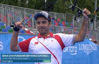 Çankırılı Sporcu Okçulukta Dünya Şampiyonu...