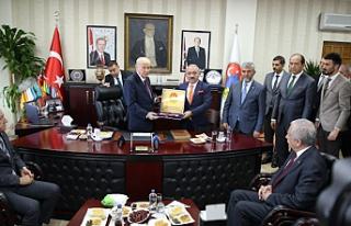 MHP Lideri Bahçeli, Çankırı Belediyesini ziyâret...