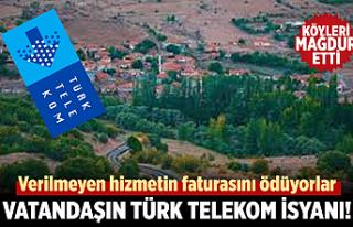 Vatandaşın Türk Telekom isyanı!