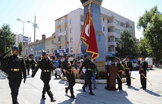 Çankırı'da Zafer Bayramı kutlandı
