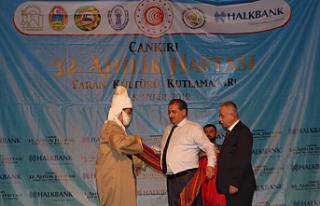 Ahilik Haftası Çankırı'da renkli etkinliklerle...