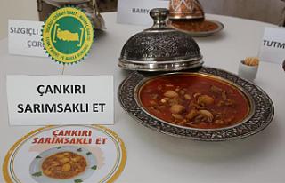 Çankırı'nın Sarımsaklı Et Yemeği Coğrafi...