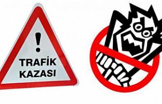 Çankırı'da trafik kazası: 1 ölü, 4 yaralı!