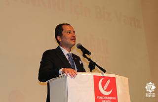 """Erbakan: """" Büyük Türkiye hedefine kaliteli..."""