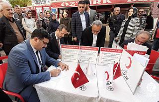 AK Parti'den kan bağışı kampanyasına destek!