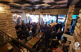 Çankırı'ya 'Gergedan Kafe' açıldı!