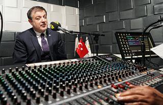 Radyo Neşe'de Sezonun İlk Konuğu Rektör Ayrancı...