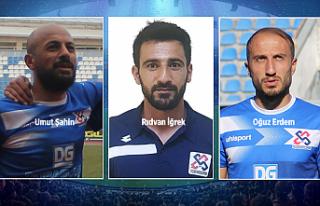 1074 Çankırıspor'da 3 futbolcu yla yollar ayrıldı!