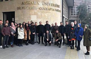 ÇAKÜ Tarih Bölümü Öğrencileri Mahmut Şakiroğlu...