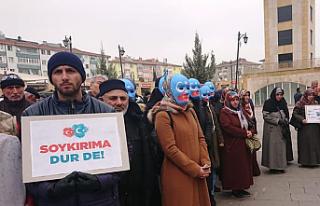 Doğu Türkistan'da yaşanan zulüm Çankırı'da...