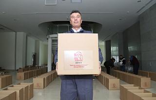 Çankırı'dan deprem bölgesine 10 ton gıda...