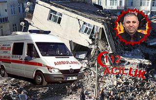 Çankırı depremzedelere acil yardımda sınıfta...