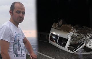 Feci kazada güvenlik görevlisi öldü
