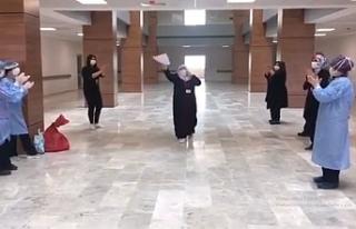 Korona virüsü yenen Çankırılı Umreci, Hastaneden...