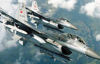Türk jetleri Kandil'de teröristlere ağır...