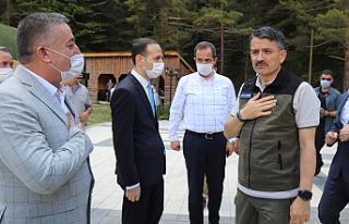 Pakdemirli Çankırı Belediyesi programını pas...