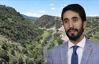 Çankırı'daki Devrez Kızlaryolu Barajı için...