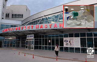 Çankırı Devlet Hastanesinde korona hastaları oksijensiz...