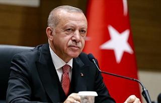 AK Parti MKYK'sında Cumhurbaşkanı Erdoğan'a...
