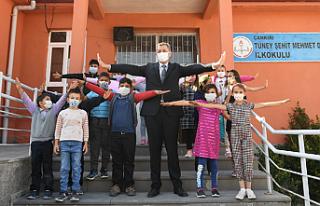 Bakan Selçuk Çankırı'da eğitim öğretim...