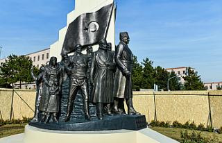 Başkent'in yeni sembol anıtı kızılca günde...